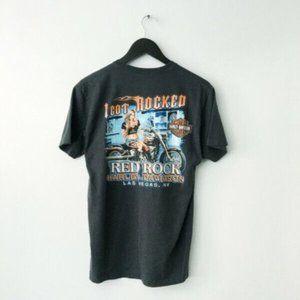 Harley Davidson Red Rock Las Vegas Graphic Shirt M